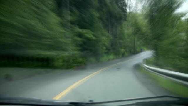 Speedy green drive. video