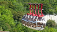 istock Sphere shaped cable cars travelling the mountains of Grenoble 492239834