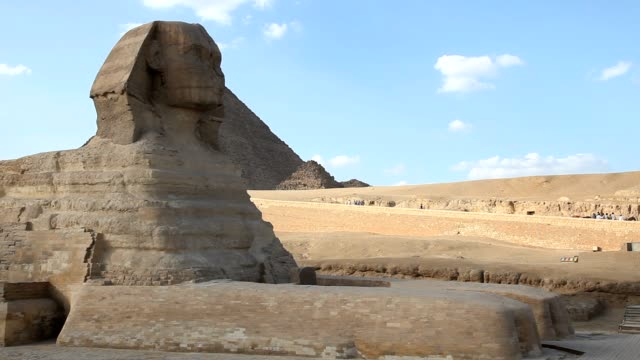 Sphinx and Great Pyramids video