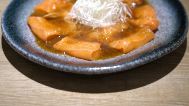 spicy salmon video