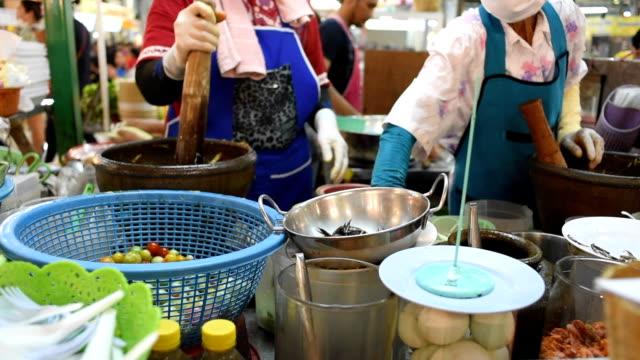 Spicy Thai Salad Asian cuisine food video