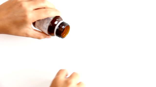 Spilling pills video