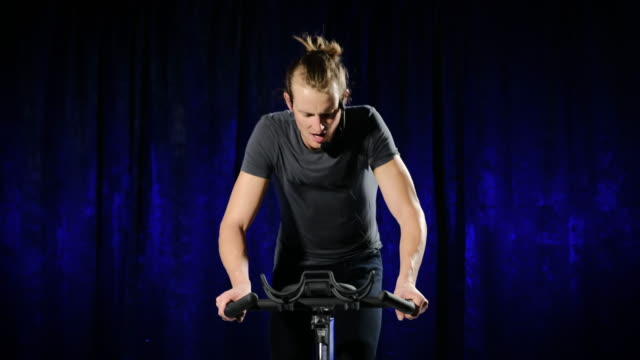 Spin Bike Instructor video