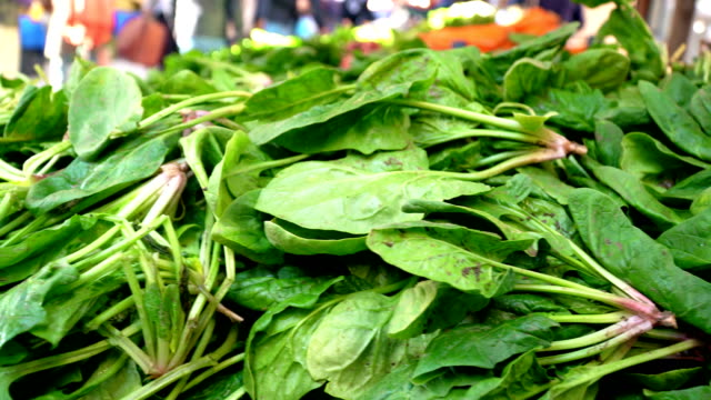 Spinach on Farmer's Market
