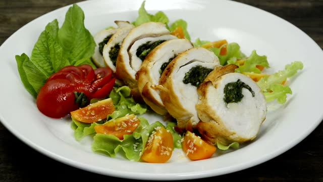 Spinach Stuffed Chicken Breast Healthyfood