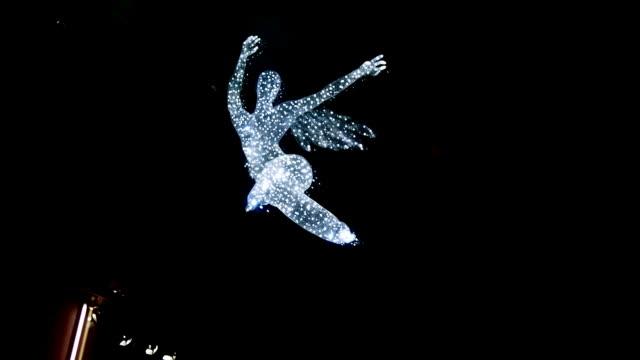 spinning angel of light video