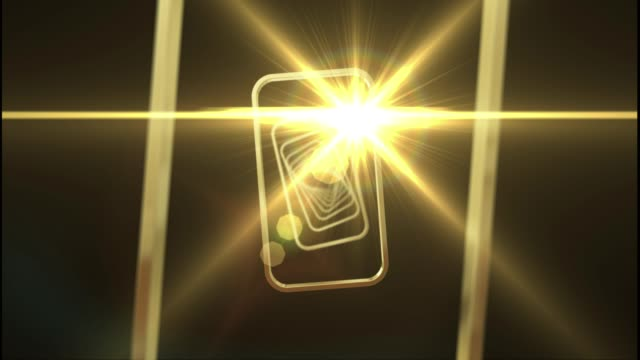 Spinnen Golden Frames Loop – Video