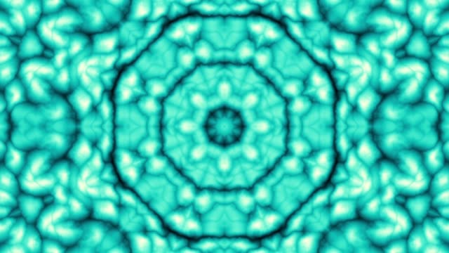 vídeos de stock e filmes b-roll de spinning mandala loop background - mandala