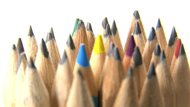 Spinning pencil tips video