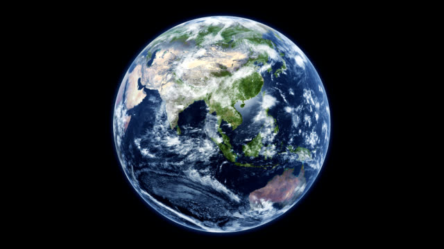 stockvideo's en b-roll-footage met draaiende planeet aarde - texturen door nasa - ozonlaag