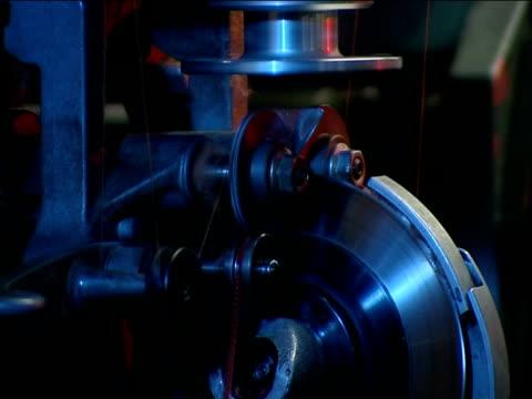 spinning-magnetspeicherband - kurzwaren stock-videos und b-roll-filmmaterial