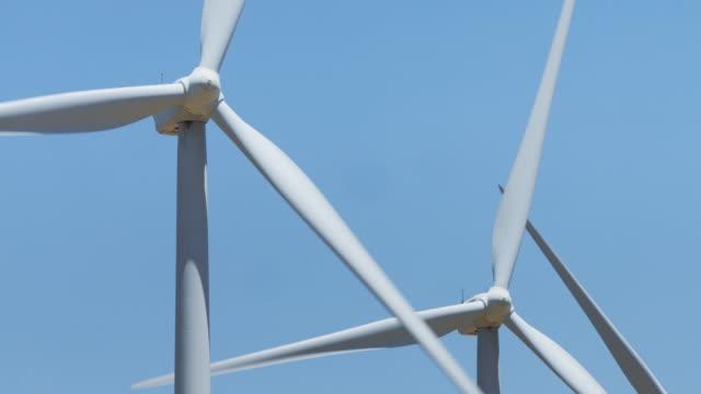 Spinning Wind Turbine Blades video