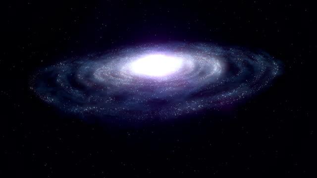 Spiral Galaxy video