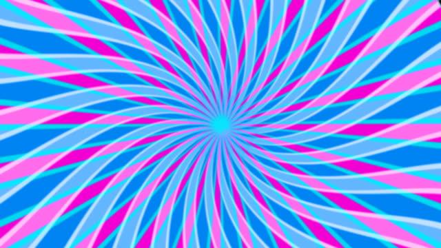 vidéos et rushes de ingérence en spirale - psychédélique