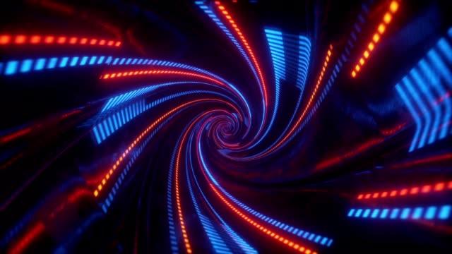 Spiral Lights Tunnel video