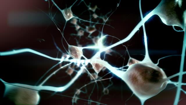 Spiritual consciousness: Zoom through eye into mind / brain / neurons video