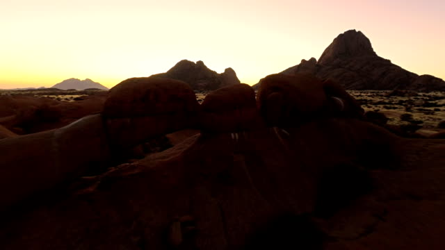 HELI Spitzkoppe At Dusk video