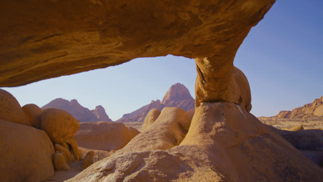 WS Spitzkoppe rock formation and peaks,Namibia,Africa