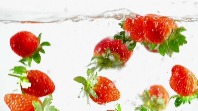 Splasching Strawberry video