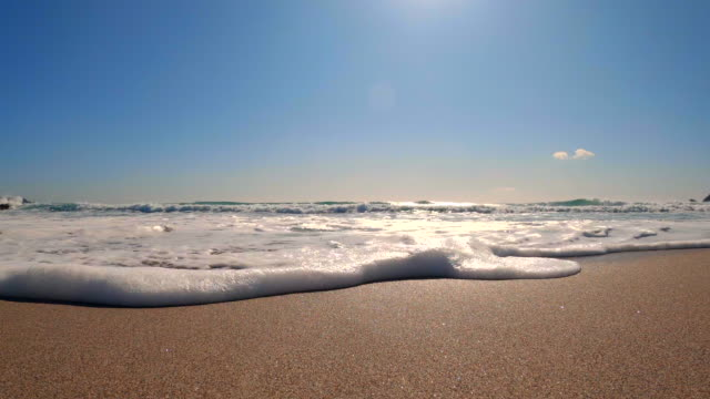 Splashes of wave Splashes of wave low angle view stock videos & royalty-free footage
