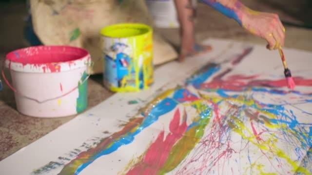 Splatter Paint Art video