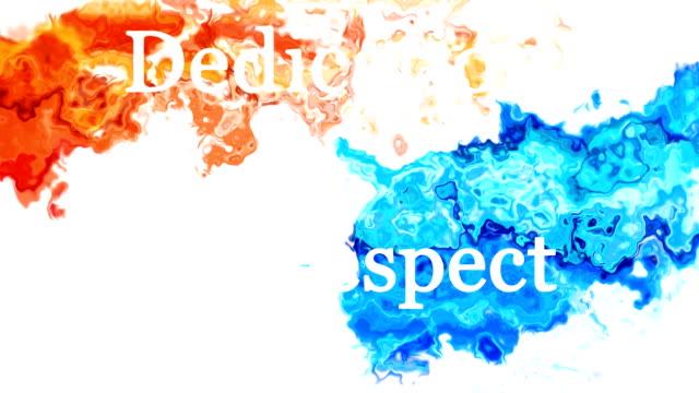 Splatter - values video