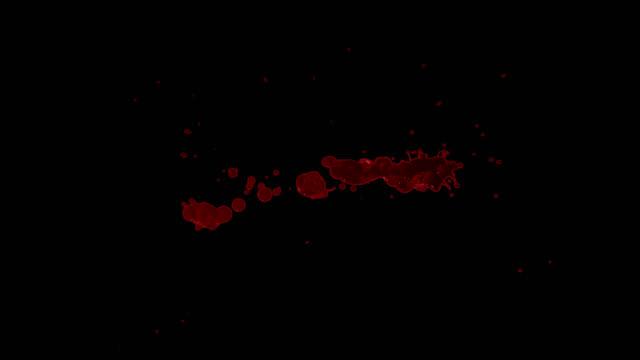 Splattered Blood Element video