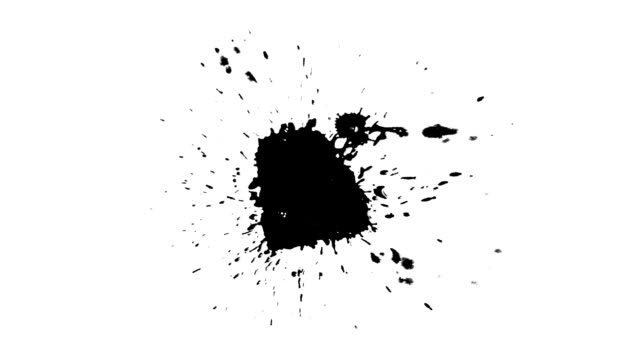 Splatters of Ink (take four) video