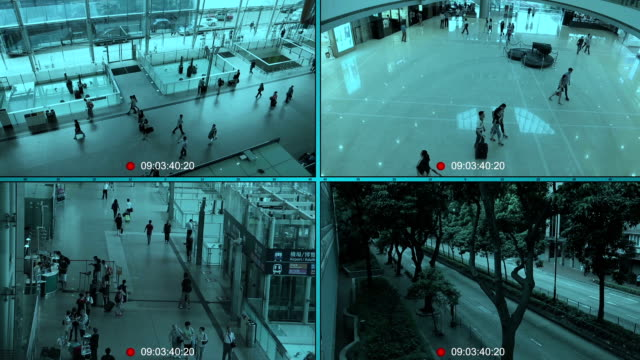CCTV Split Screen video