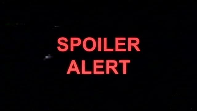 spoiler alert im vhs-look - wachsamkeit stock-videos und b-roll-filmmaterial