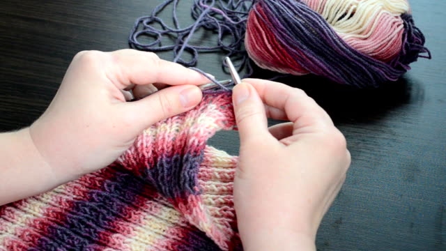 Spokes and wool video