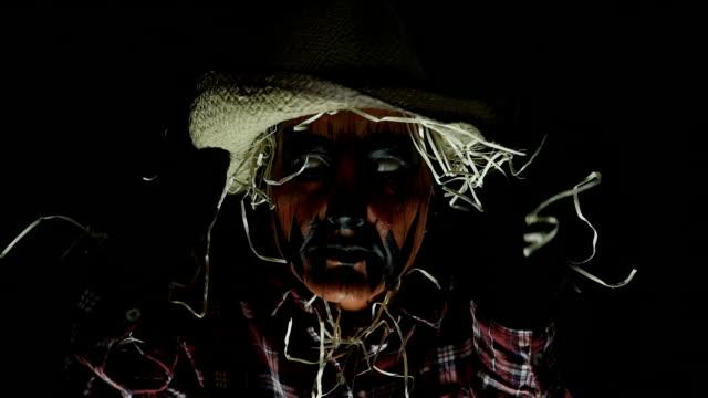 Spooky Halloween Scarecrow