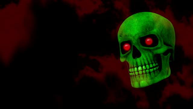 Spooky Halloween Skull video