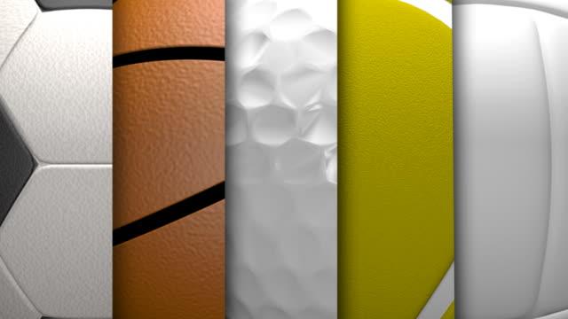 スポーツの背景 - スポーツ用品点の映像素材/bロール