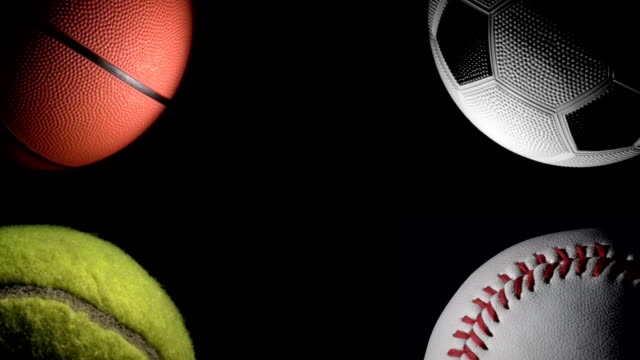 Sports Balls Background Hd Stock Video More Clips Of Activity 472671913
