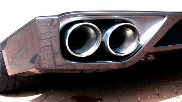 Sports Car Exhausts Revving video
