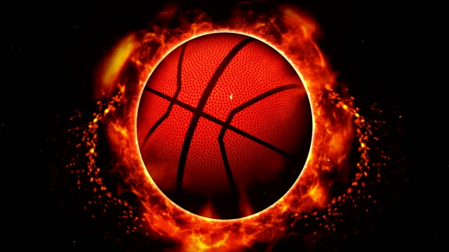 Sports Fight Backgrounds, Basketball, Loop Animation, video