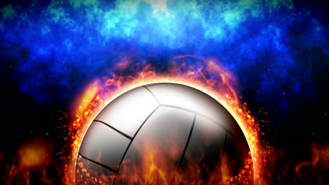 sport kampf hintergründe, volleyball, loop animation - volleyball stock-videos und b-roll-filmmaterial