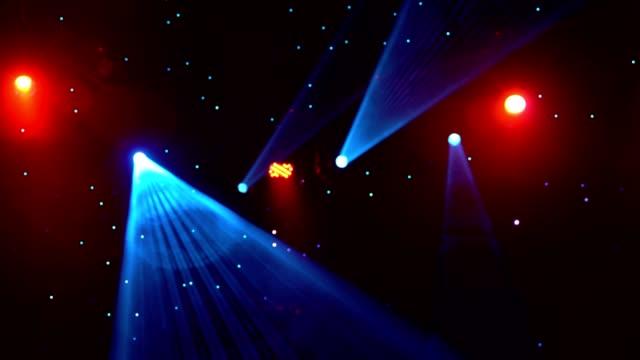 vídeos de stock, filmes e b-roll de loop de fundo do spot lights - eventos de gala