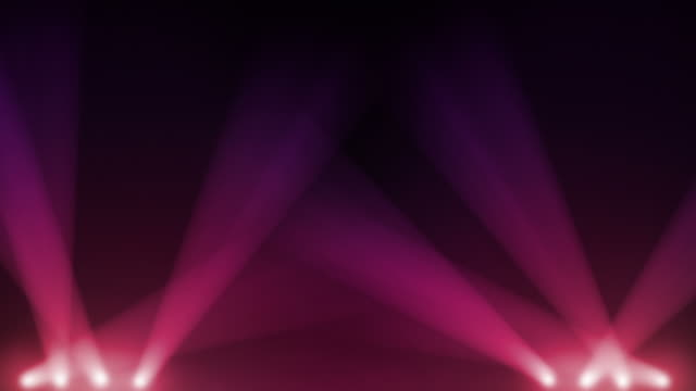 Spotlight animation. Pink and Purple. video