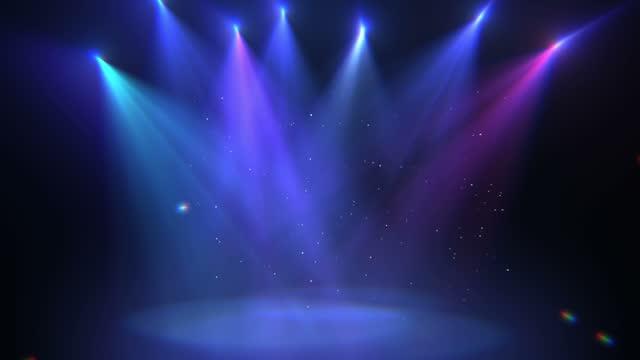 vídeos y material grabado en eventos de stock de fondo de escenario de protagonismo 4k - escenario