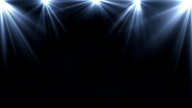 spotlights lighting flare animation on a dark background, abstract spotlights lighting flare animation on a dark background, abstract electric light stock videos & royalty-free footage