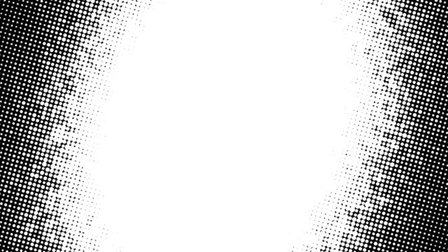 Spotted Black and white style animate Background 4k resolution