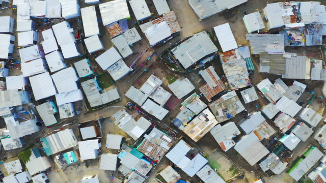Sprawling townships of South Africa 4k drone footage of a township in South Africa cape town stock videos & royalty-free footage