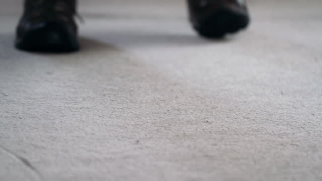 Spraying a Carpet video