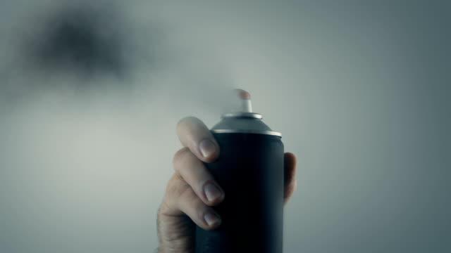 POV Spraypaint Covers Camera Lens video