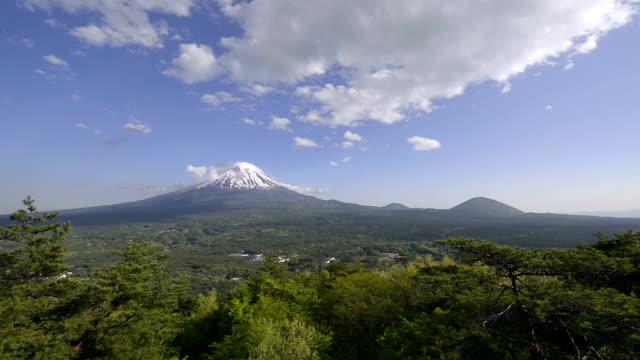 Spring Landscape of Mt.Fuji,Yamanashi,Japan video