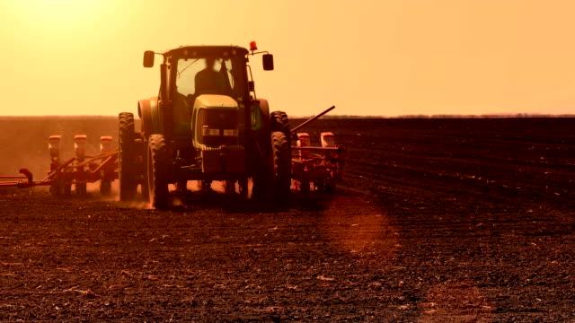 Spring Sowing of Sugar Beet video