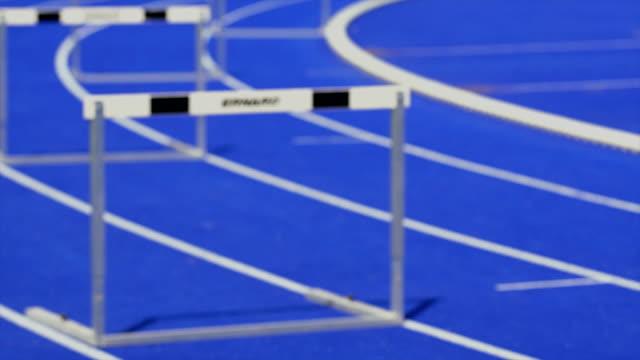 HD Sprint Hurdle Race for Men video