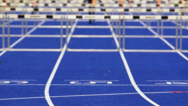Sprint Hurdle Race for Women